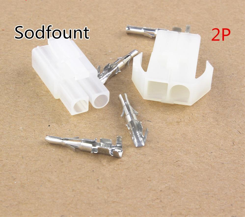 10 sets 2P 2 Way pin Big Tamiya connector Set Kits large