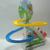 Dálmatas Rotativo Elétrico Pista de Slides das Crianças Brinquedos Musicais Brinquedos Educativos para Crianças Pequenas Do Cão Vai Subir as Escadas