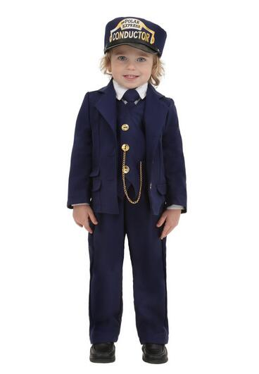 Hot Halloween Conductor Clothes Detective Officer Special ...