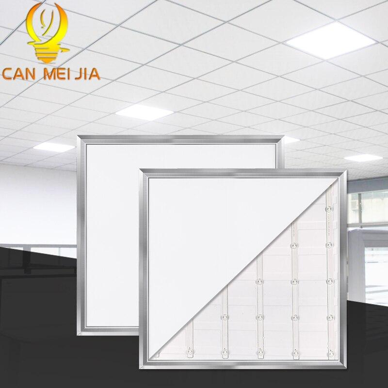 Panel de luz LED cuadrado 21W 220V 300*300mm lámpara de Panel de alta potencia 300x300 luces de techo empotradas para oficina dormitorio sala de estar