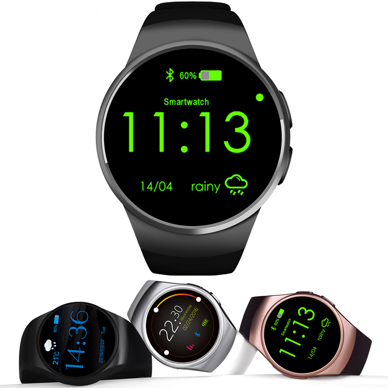 Smart Watch KW18 Full IPS Screen Bluetooth Wearable Devices Heart Rate Monitor Fitness Tracker for IOS Android Smartphones f2 smart watch accurate heart rate statistics i bluetooth watch compatible android smart wearable ios system