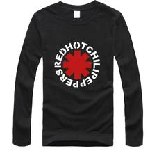 Hot nk Punk Rap Alternative Rock And Roll Red Hot Chili Peppers T shirt Men Cotton Printing Black Rock Music HIp Hop T-Shirt