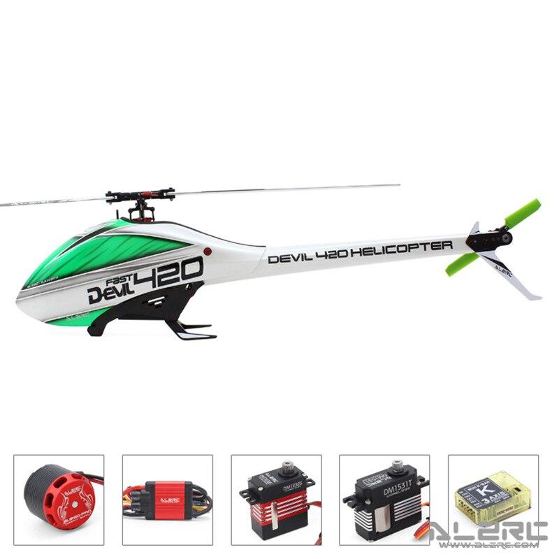 ALZRC Devil 420 FAST FBL Super Combo 420 RC Helicopter Black Standard