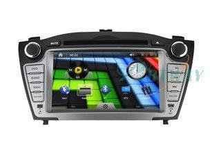 "DHL EMS Freeship  7"" for Hyundai IX35 Car DVD navigation Radio BT IPOD 1080P GPS Stereo Radio Car PC 3G/WIFI Steerwheel control"