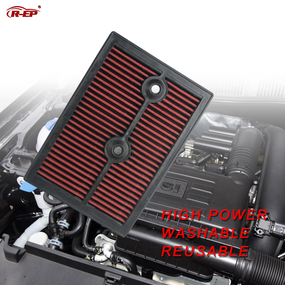 R EP Perfanmance Replacement Panel Air Filter Fits for Volkswagen Polo GOLF PASSAT SKODA SEAT Audi