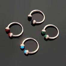 Модные кольца для женщин Красного/синего/зеленого/черного цвета