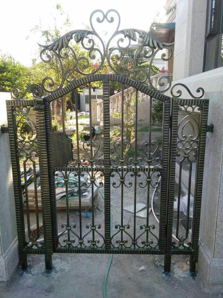 Hench luxury wrought iron gate hc lg custom size
