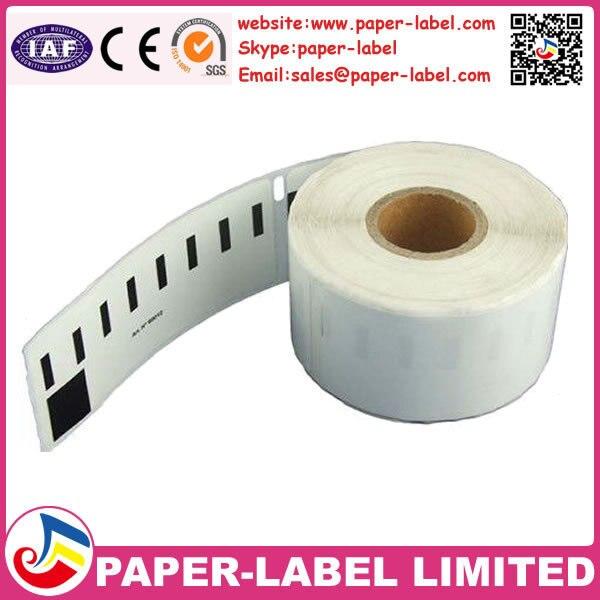 US $54 7 |12 X Rolls Adhesive Sticker Accept Dymo Compatible Labels  11352,54*25mm return address labels(dymo 11352) etichette-in File Folder
