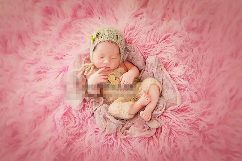 150*100 cm bigger size blanket Baby Photography Photo Props Backdrop Blanket Newborn Basket Stuffer Newborn Photography Props