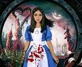Бесплатная Доставка Alice: Madness Returns Алиса Горничной Unimorm Игры Косплей Костюм