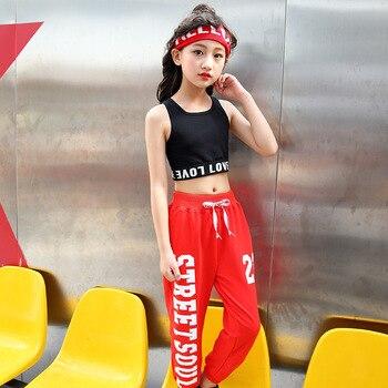 дети хип хоп толстовки костюмы для свитер для девочек топы Jogger