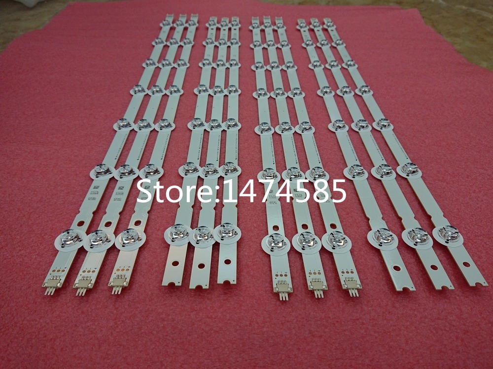 100%New 12 PCS/set LED Strip 55 V14 Slim DRT Rev0.0 R1 L1 R2 L2 Type For 55LB7200 LC550DUH(PG)(F1) 6916L 1629A 1630A 1741A 1743A