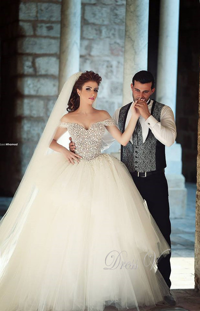 Fabulous Top Quality Wedding Dresses Sweetheart Beaded Pearls