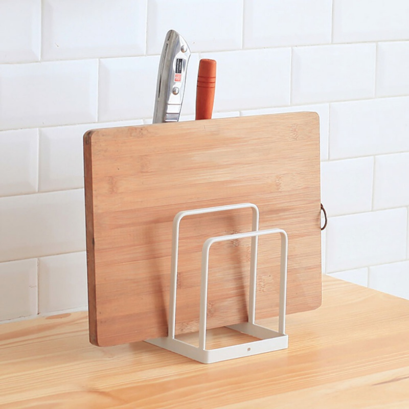 Portable Cutlery Display Rack Iron Kitchen Knives Drain Rack Useful Home Garden Kitchen Dining Supplies