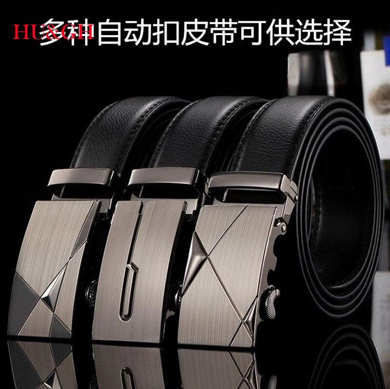 HU GH belts for men leather belt cowskin strap