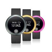 S6 Bluetooth 4,0 Smart Uhr 0,66 inch Bildschirm für IOS Android Smartwatch Schlaf-monitor Pulsmesser Schrittzähler