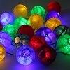 5M 20 LED Solar String Lights Fairy Globe Lantern Ball Outdoor Lighting Decorative Christmas Solar Lamp