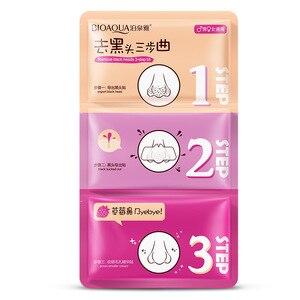 Image 2 - BIOAQUA Nose Blackhead Remover Facial Mask Black Mask Peeling Acne Treatment Mask Face Care Pore Cleanser Shrinking Pores