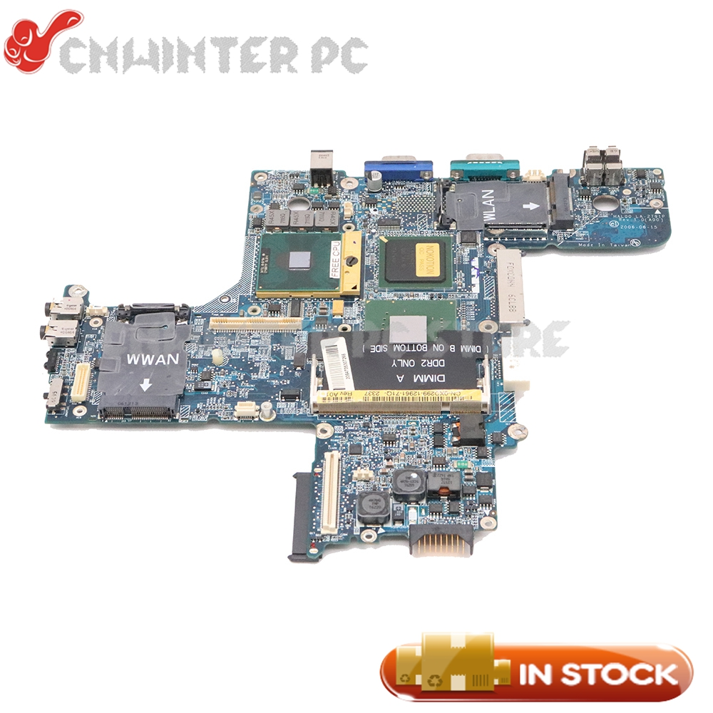 NOKOTION For Dell Latitude D620 Laptop Motherboard 945GM DDR2 CN-0XD299 0XD299 HAL00 LA-2791P Free CPU