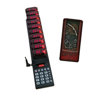 Ycall K TP10 Restaurant Pager Waiter Calling System Wireless Paging Queue System 10 Call Buzzer Quiz Customer Service Equipment