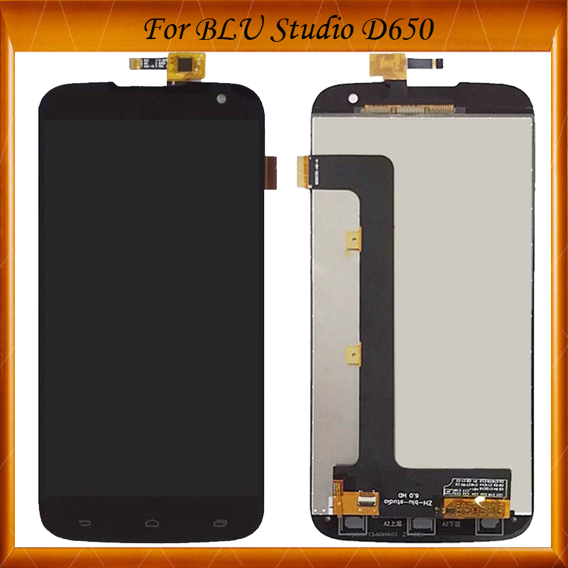 For BLU STUDIO 6.0 HD D650 D650A/I VAD85 T15 6 7 LCD Display Touch Screen Digitizer Assembly IN Stock