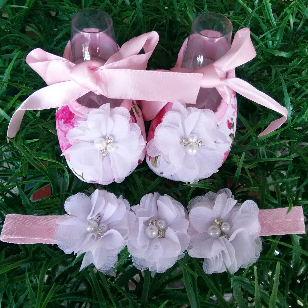 2015 New Girl infant tiara baby shoe white first walkers;sapatos bebe menina;toddler shoes headbands sets,toddler moccasins