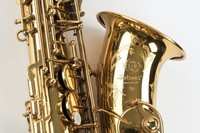 Copy Selmer Mark VI Alto Eb Saxophone Near Mint 97 Original Gold Lacquer Free Shipping