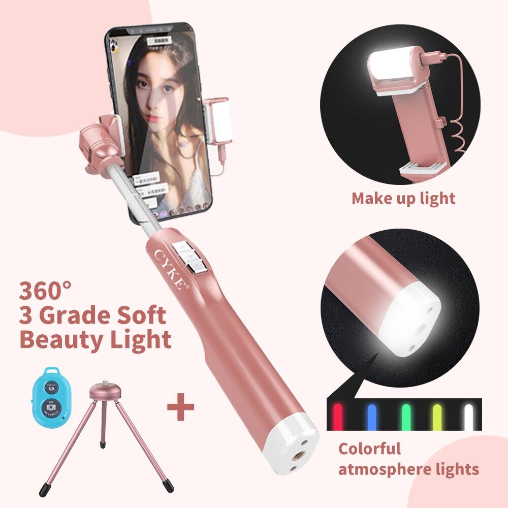 NIEUWE A8 Rose goud vrouwen Fashion Fill licht smartphone selfie - Camera en foto