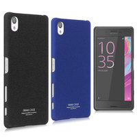 IMAK Contracted Frosted Cowboy Quicksand Back Cover Case For Sony Xperia X 5 0 Inch Moblie