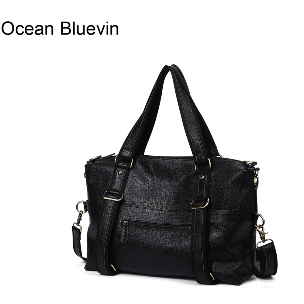 OCEAN BLUEVIN Genuine Leather Bag Business Handbags Cowhide Men Crossbody Bags Men's Travel Bags Tote Laptop Briefcases Men Bag lacus jerry genuine cowhide leather men bag crossbody bags men s travel shoulder messenger bag tote laptop briefcases handbags