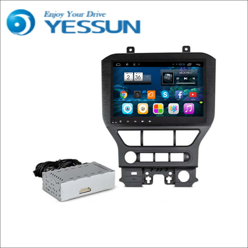 for ford mustang 2015 2016 autoradio car android media player system radio stereo gps navigation. Black Bedroom Furniture Sets. Home Design Ideas