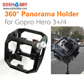 Assemble Full Shot Case 360 Degree Spherical Panorama Holder Frame Mount for Gopro Hero 3 3+ 4 Camera