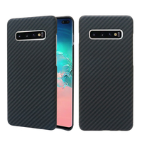 Luxurious Case for Samsung S10 Plus S10E S10 Ultra Thin Matte Carbon Fiber Pattern Case for Samsung S10 Plus Case S10 Plus Cover
