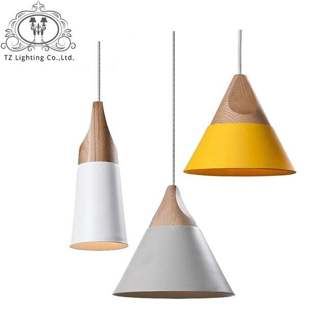 Coloré Pendentif industrielle lampes pour cuisine E27 corde lampen