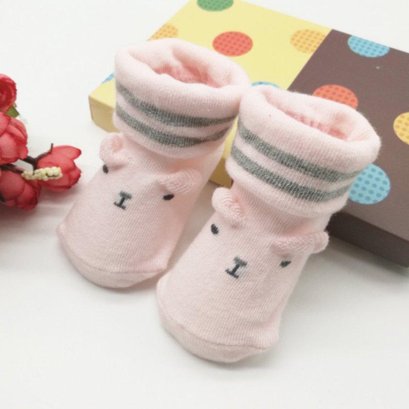 born Unisex Socks Baby Socks Cute baby non-slip First Walkers Socks A8