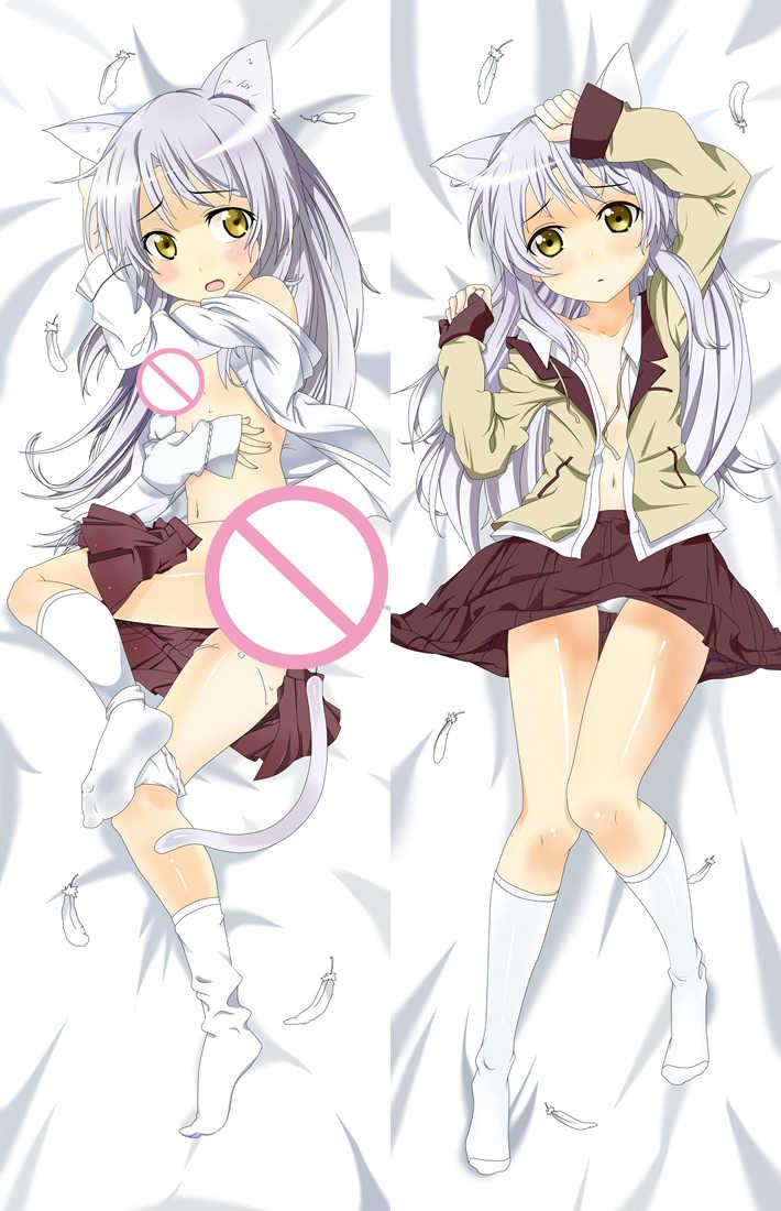 2018 8 월 anime angel beats! 섹시한 여자 캐릭터 타치바나 가나 데 다키 마 쿠라