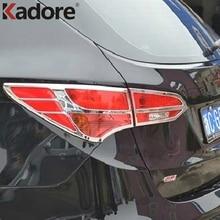Per Hyundai Santa fe Maxcruz 2013 2014 2015 ABS Cromato Fanale Posteriore Coperchio Della Lampada Trim Posteriore della Coda Della Lampada Della Luce Accessori Esterni
