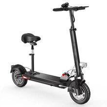2018NEW 10 дюймов двухколесный складной электрический скутер велосипед ХОВЕРБОРДА электрические скутеры с 48v10Ah-21Ah пробег 100 км Батарея