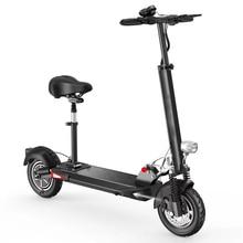 2018NEW 10 дюймов два колеса складной самокат велосипедов ХОВЕРБОРДА скутеры с 48v10Ah-21Ah выносливость пробег 100 км Батарея