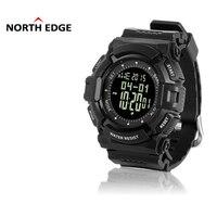 NORTHEDGE Men S Digital Watch Hours Outdoors Fishing Weather Swimming Waterproof Barometer Altimeter Monitor Wristwatch NE7
