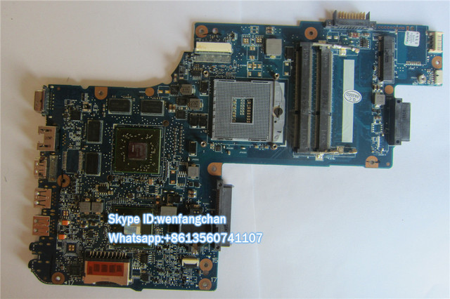 H000052630 motherboard For   C850 L850 15.6 Inch Laptop  HM77 DDR3 With  graphics