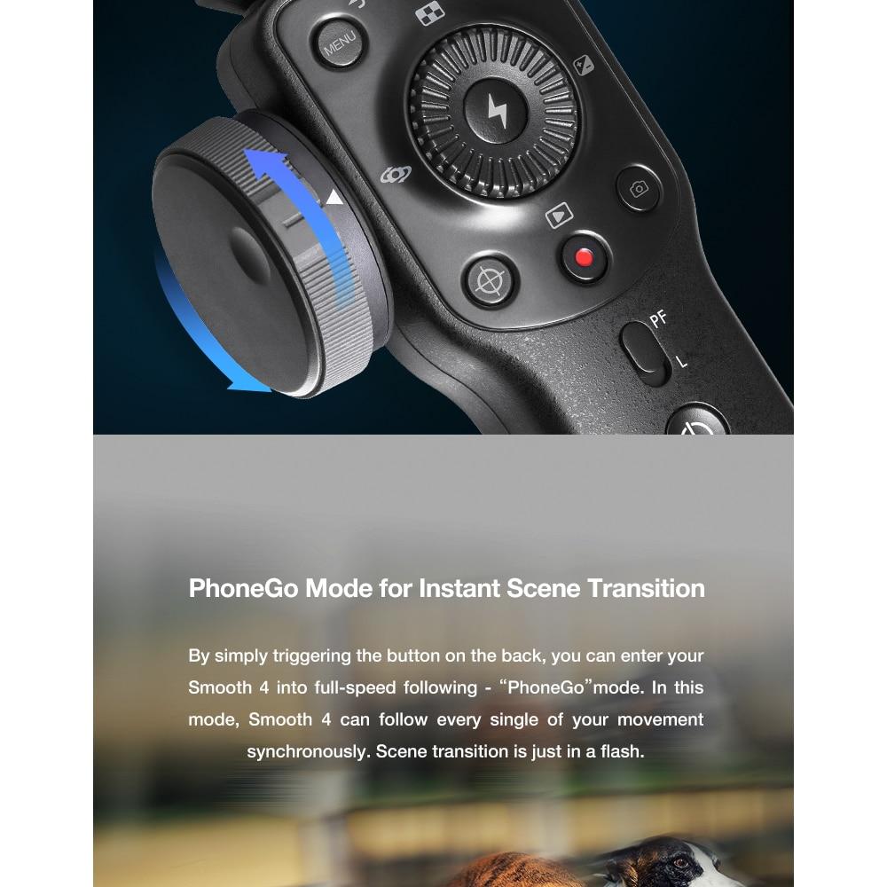 Zhiyun βραχίονας για selfie iphone x xs max samsung s8 action camera msow