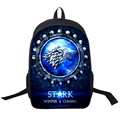 Valar Morghulis Backpack For Teenagers Night's Watch School Backpacks Men Women Game Of Thrones Children School Bags Kids Bag