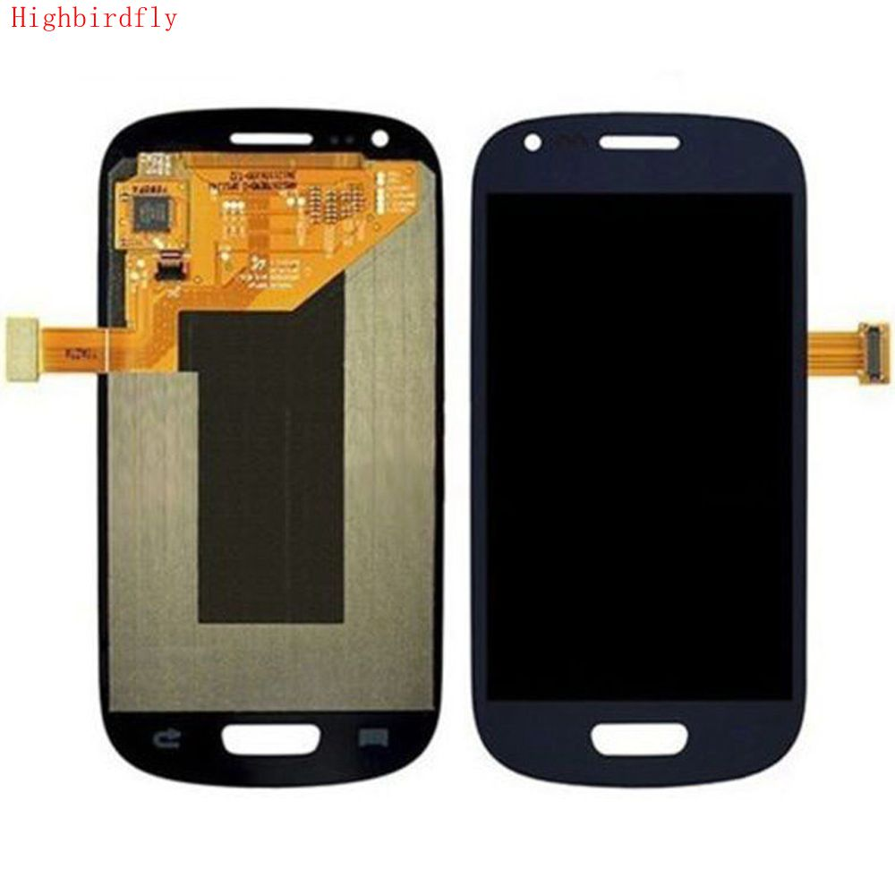For Samsung Galaxy S3 mini i8190 i8200n i8195 i8200 Lcd Screen Display+Touch Glass DIgitizer Assembly Repair Amoled image