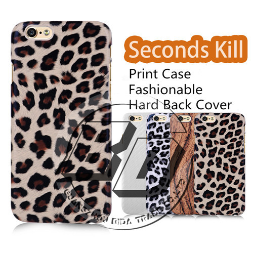 Excellent Quality i6 Phone Cases Skin For Apple Iphone 6 Case Print Leopard Carbon Fiber Wooden 4.7inch Ultra Slim Fit Covers