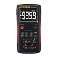Digital Multimeter DC/AC Spannung Amperemeter Frequenz Strom Ohm Tester-in Multimeter aus Werkzeug bei