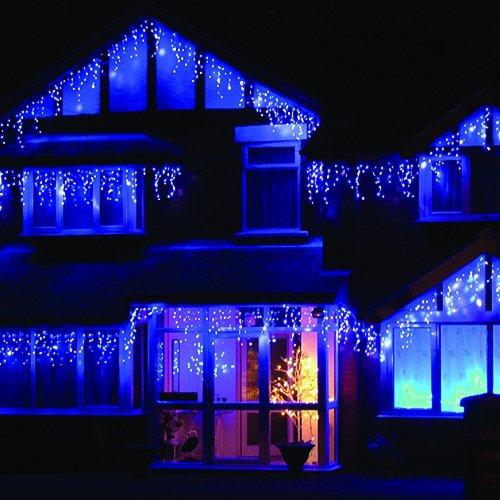 1pcs lumières de Noël icicle 4m 96leds icicle lights led AC110V / - Éclairage festif - Photo 6