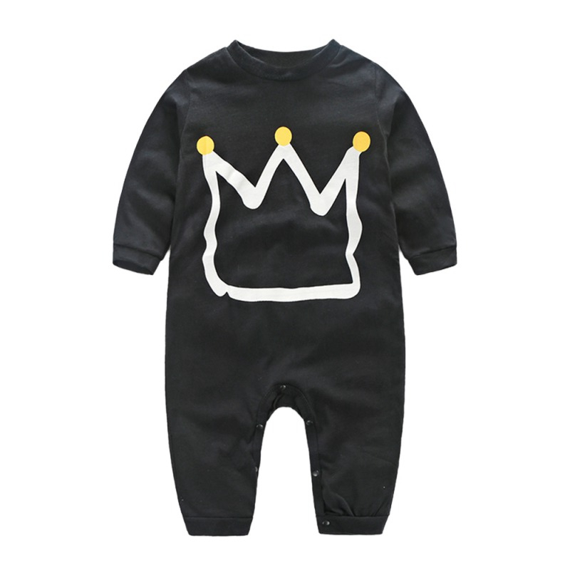 Hot Selling Gentleman\'s   Rompers   Baby Boy\'s Long-sleeved Playsuit 2019 Autumn Spring Cotton Casual Newborn Boy Outfits 0-24M A2