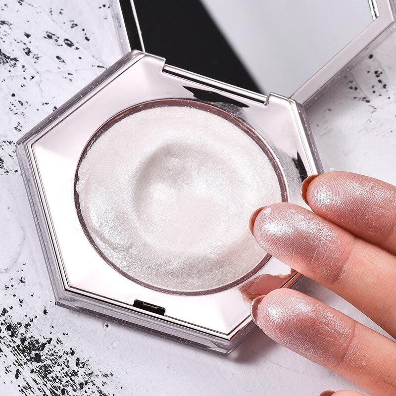 Profissional Facial Bronzers Highlighter Palette Maquiagem Kit Brilho Rosto Contorno Destaque Brilho Bomba de Diamante Em Pó Iluminador