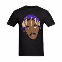 Funny T-Shirts Fashion Street Hip Hop Fitness Tee Tops T-shirt Lil Uzi Vert Art Image Brand New Summer Men's Casual Short Sleeve